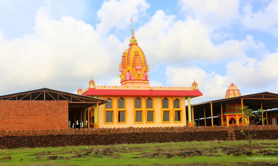 Balu mama temple near Talebajar on Devgad highway