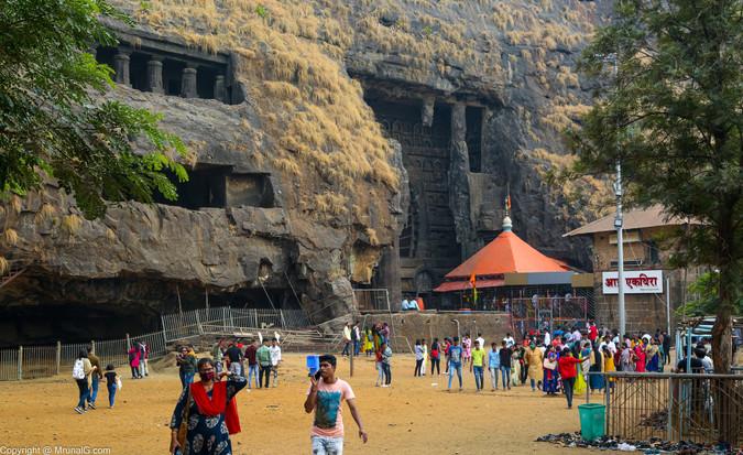 Karla Buddhist caves near Lonavla