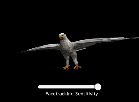 Face tracking 3D model viewer app upgrade released