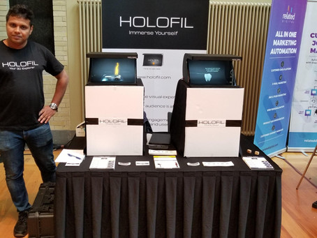 HOLOFIL @ DMWF Digital marketing conference to showcase its hologram project