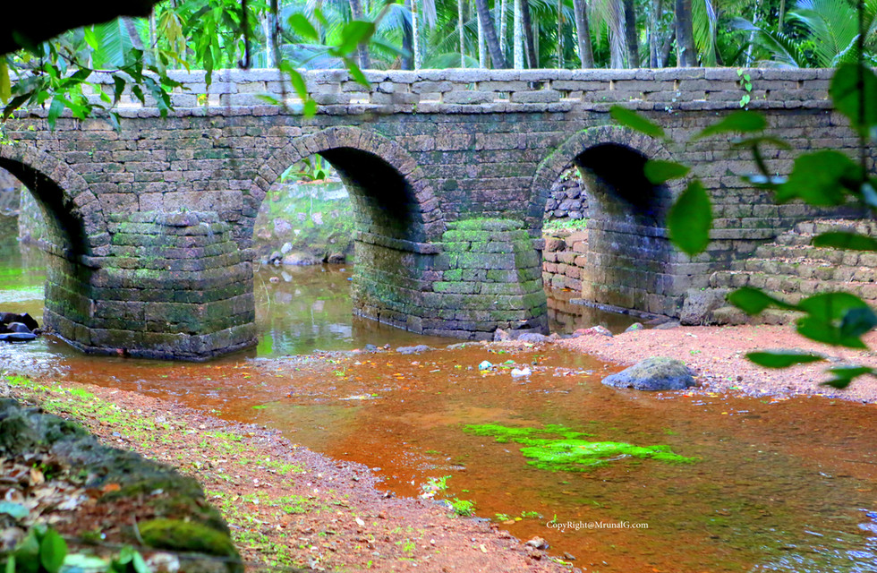 6.15 Vimleshwar temple stone bridge