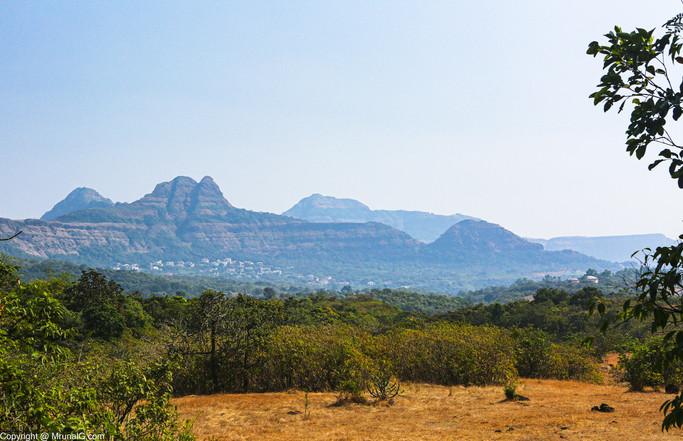 Sahyadri mountain ranges near Amby valley Lonavla