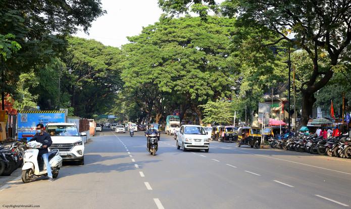 The Deccan area Jangli Maharaj road