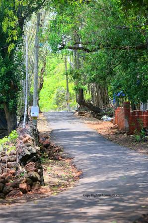 Malai to Devgad college area road.