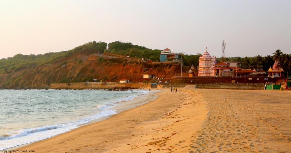 Kunkeshwar temple at Kunkeshwar beach