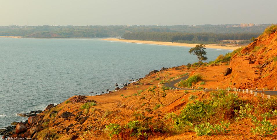 Scenic view from Kunkeshwar to Devgad via Mithmubari bridge