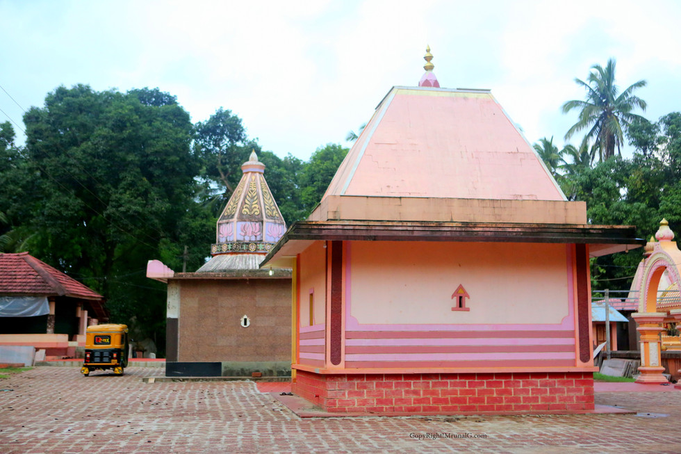 Temples in Rameshwar temple campus Mithbav