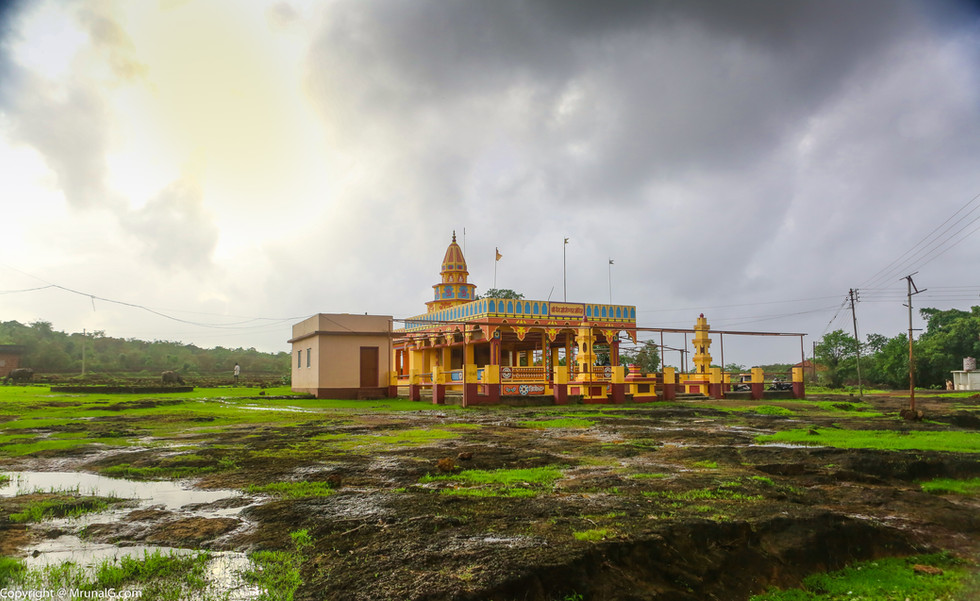 Temple at Devgad Katta