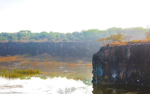 Vetak tekdi stone quarry