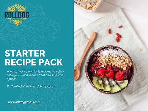 Starter Recipe Pack