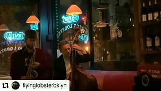 """Nick Green Trio @ The Flying Lobster """"I Can't Get Started"""""""