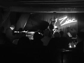 Zinc bar with Bruce Barth Trio
