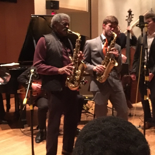 Playing with the master himself, Mr. Charles McPherson