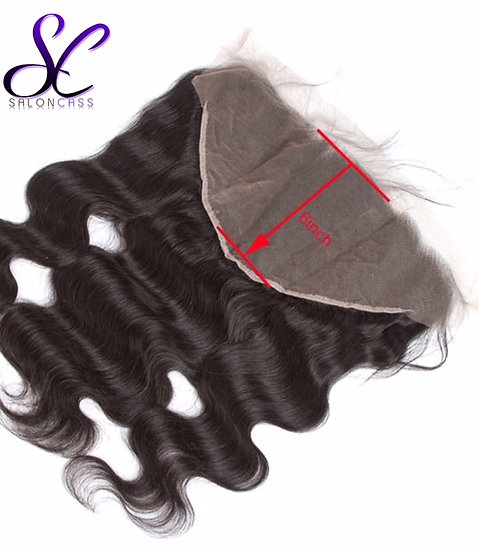 "13 x 6"" BODY WAVE LACE FRONTAL (Deeper Part)"