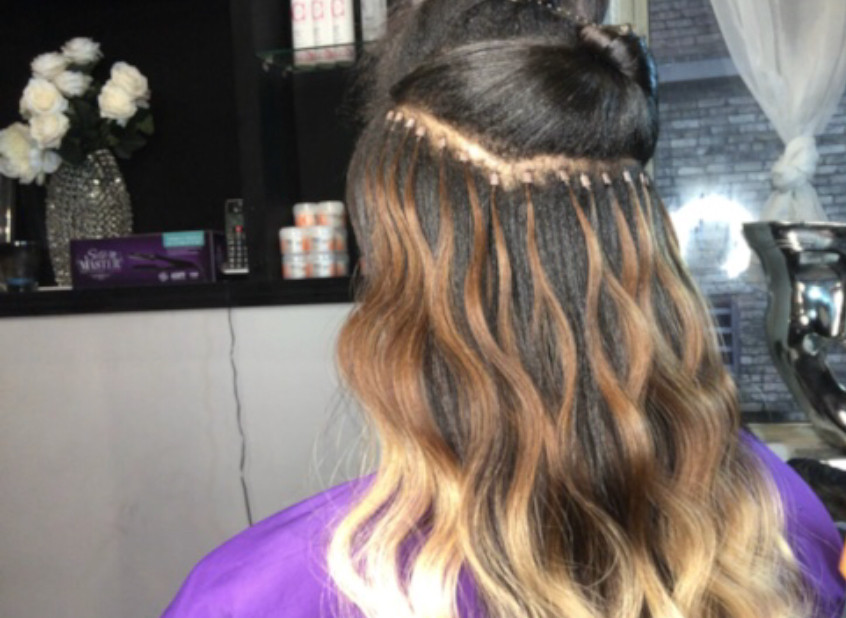 hair by shaunda micro links