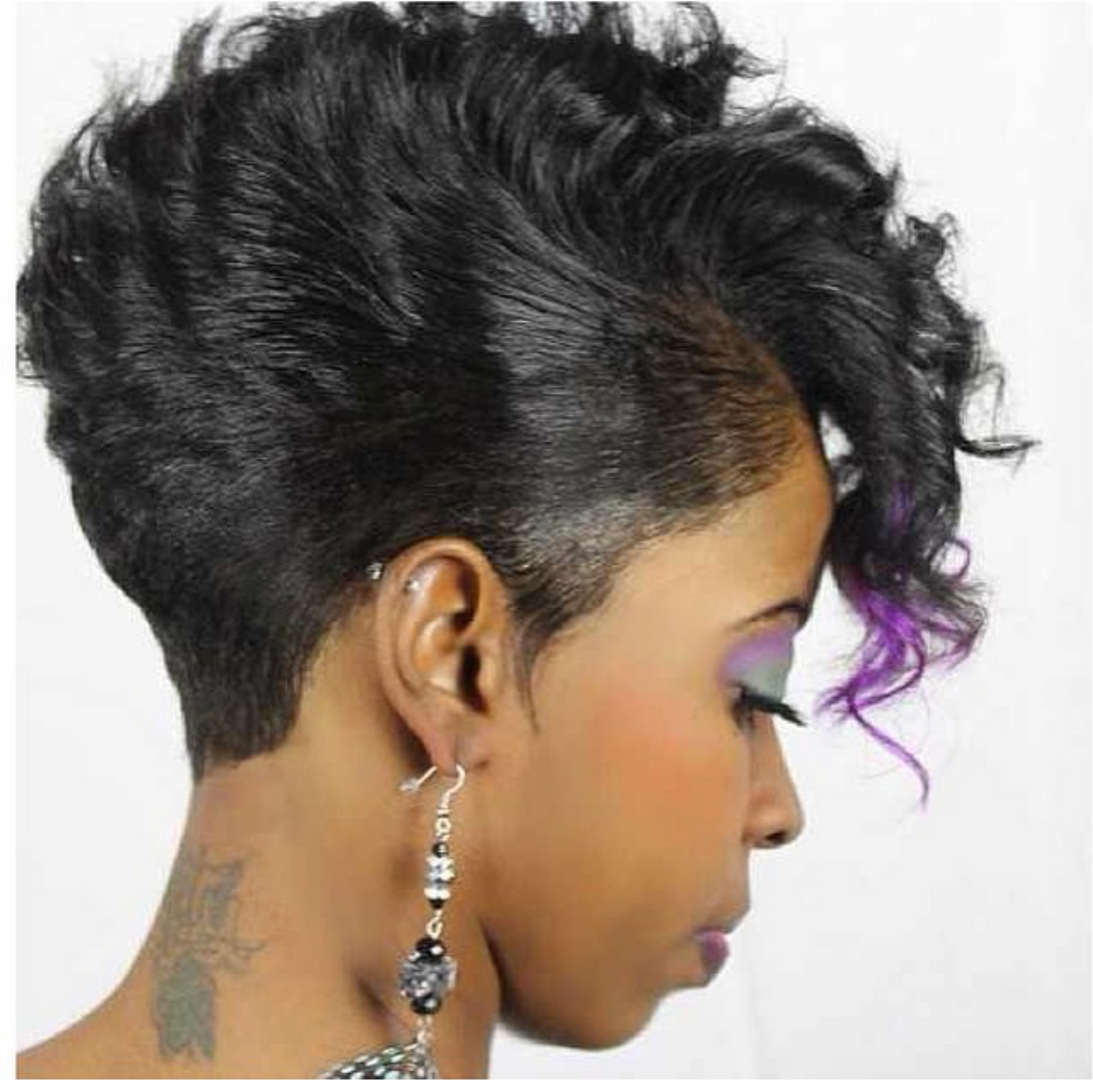 hair by shaunda cass short cut