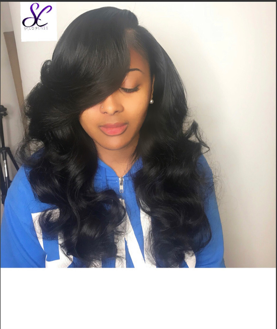 sew in weave hair by shaunda cass