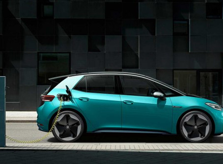 Novo Volkswagen ID3 Elétrico com 550km de autonomia e preço de Golf
