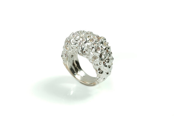 Lava Cocktail Ring