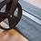 Thumbnail: Rubber drempelhulp met lijmlaag (2 delig)