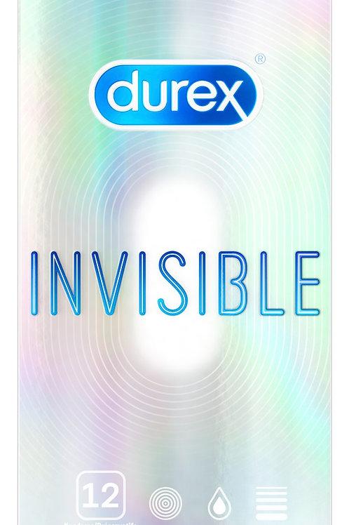 Verpackung Durex Invisible Kondome 12 Stück