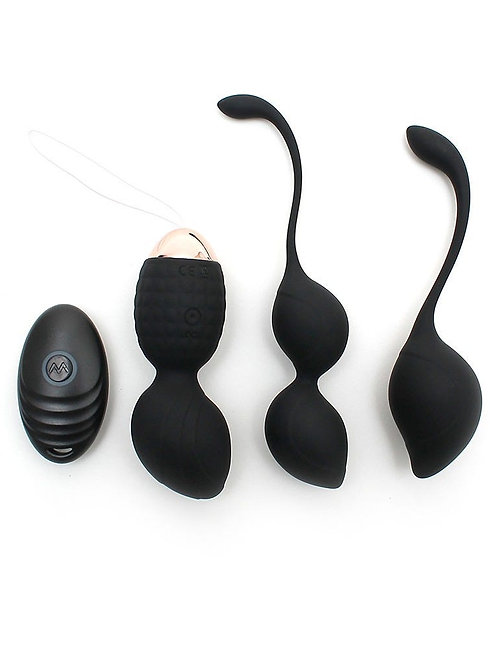 Rimba Balls Set Rimini in schwarz