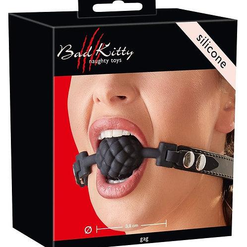 Verpackung Bad Kitty Gag Ball aus Silikon