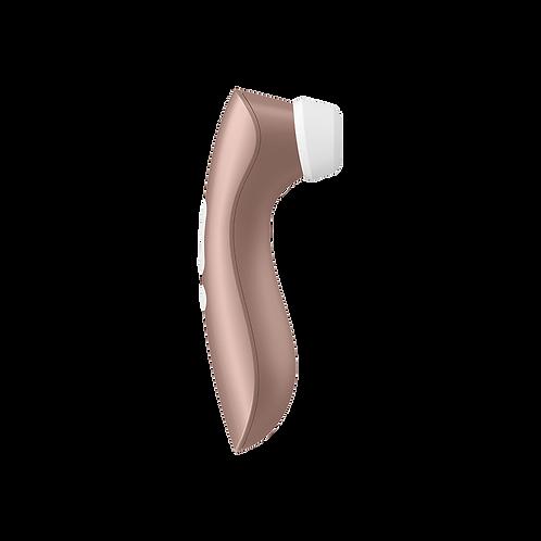 Satisfyer Pro +2 Vibrator rosegold