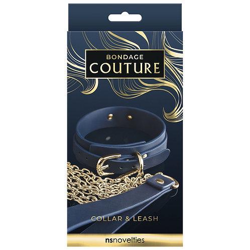 Bondage Couture Halsband und Kette