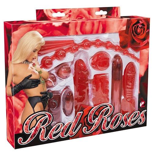 Red Roses Lovetoys SexToys Set für Paare