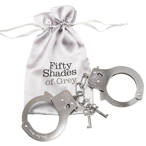 Handschellen von Fifty Shades of Grey mit süßer Verpackung