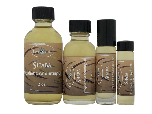 SHABA ~ Anointing Oil