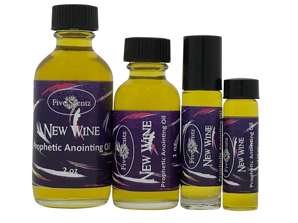 NEW WINE ~ Anointing Oil | FiveScentz