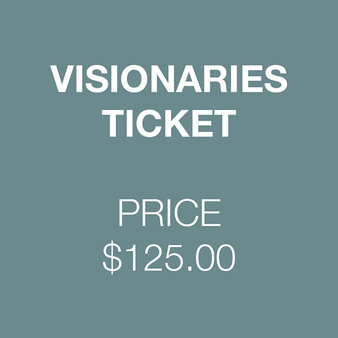Visionaries Ticket | Visionaries Lecture Sereies - Fall 2020