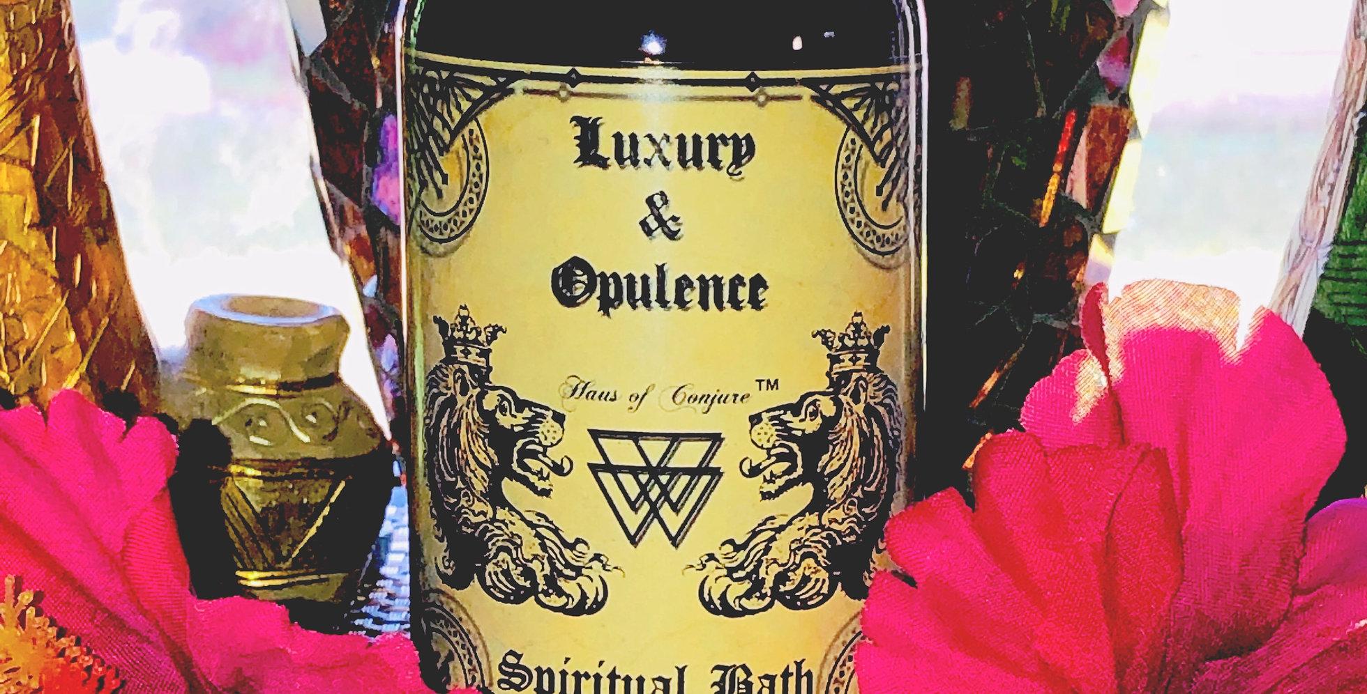 Luxury & Opulence Spiritual Bath