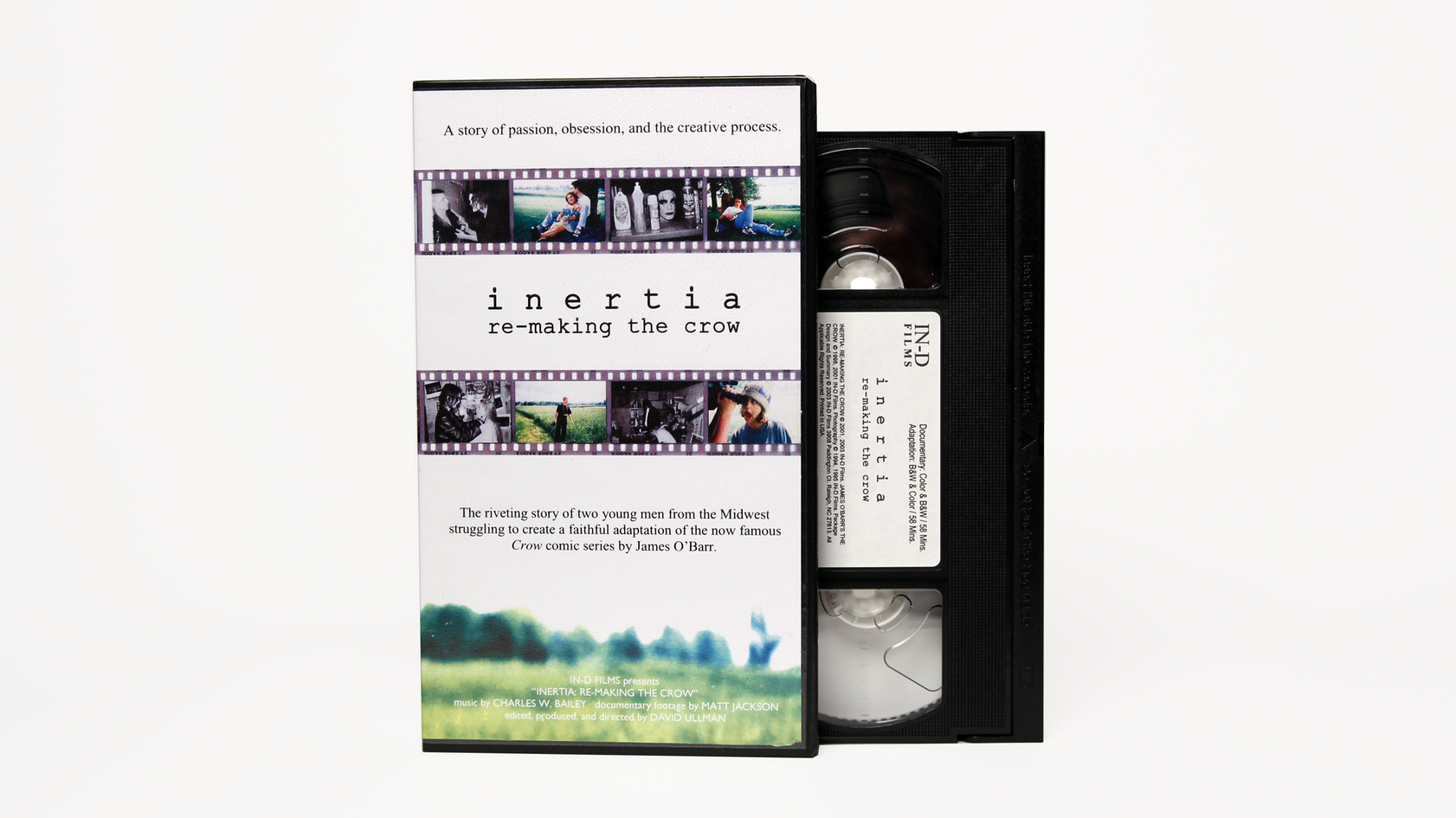 Inertia: Re-Making The Crow VHS (2003)