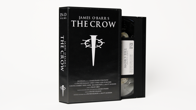 James O'Barr's The Crow (Trust Obey Score) VHS, 2001