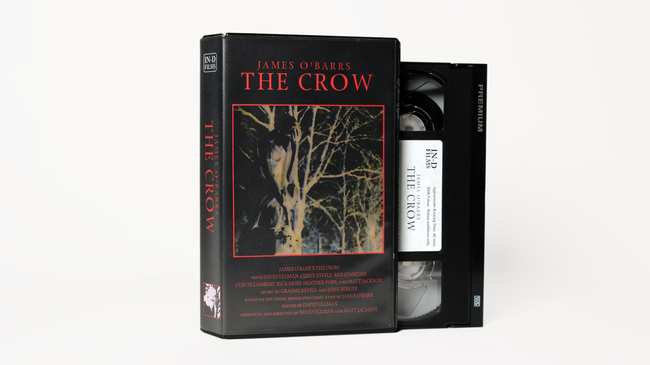 James O'Barr's The Crow VHS (1998)