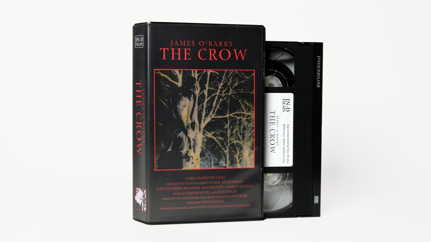 James O'Barr's The Crow VHS (1998)