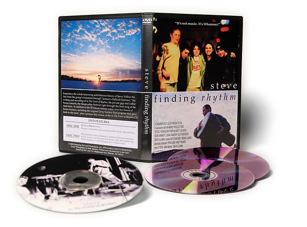 Steve: Finding Rhythm DVD