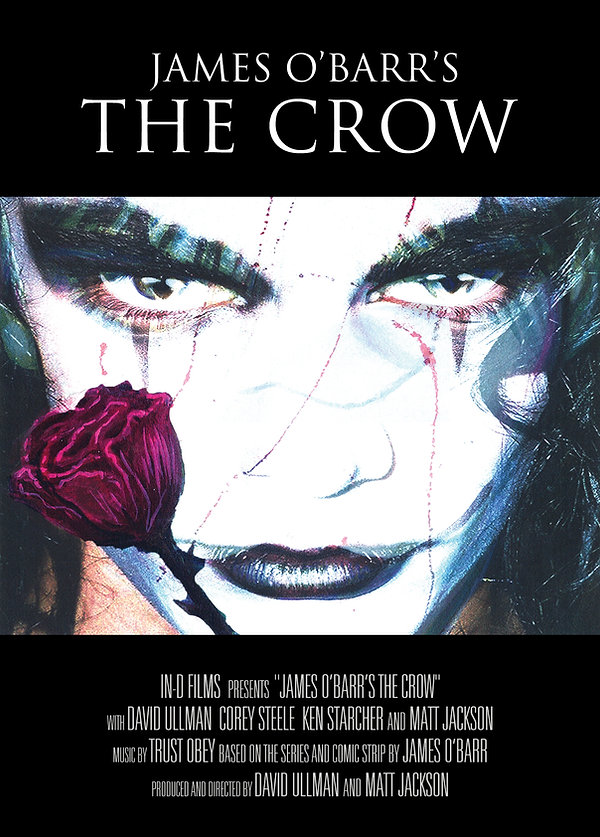James O'Barr's The Crow IN-D Films poster