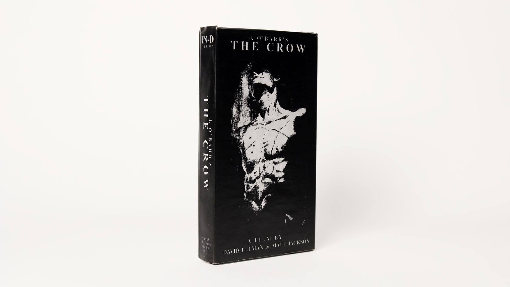 J. O'Barr's The Crow VHS (1995)