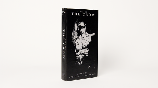 J. O'Barr's The Crow VHS (1995)
