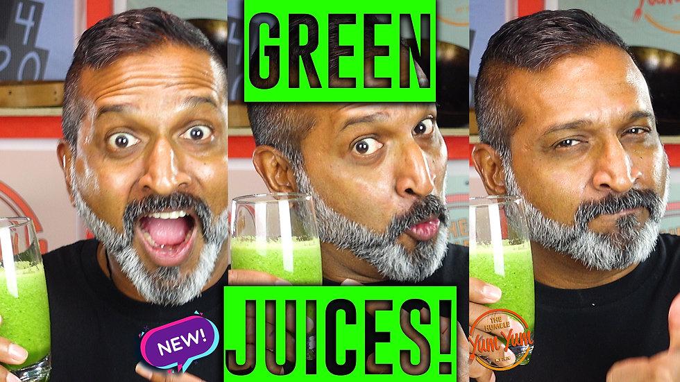 GOOD GREEN JUICES