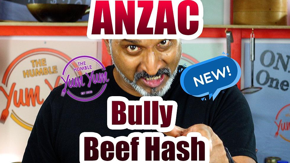 ANZAC BULLY BEEF HASH!
