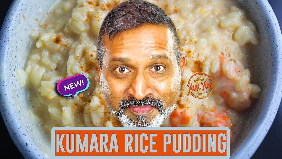 KUMARA RICE PUDDING