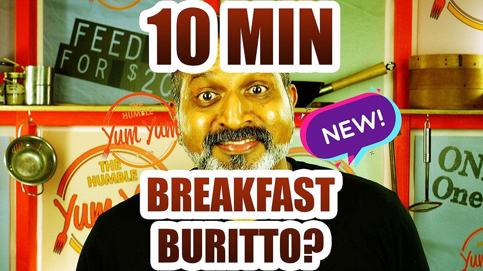 10 MIN BREAKFAST WRAP
