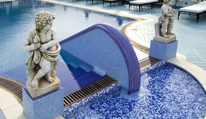 Облицовка бассейнов