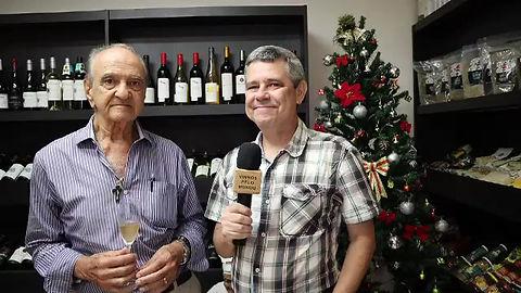 Flash com o sommelier @diegoarrebola e os vinhos em lata da @aryawines