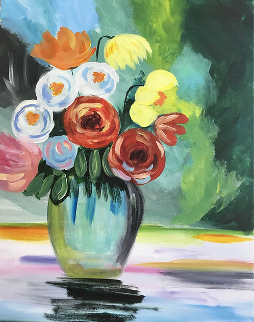 """Tuesday Feb 25  at 1 PM Skillins """"Flower Show"""""""